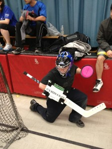 """The Famous """"It's Been a Slice"""" Goalie"""