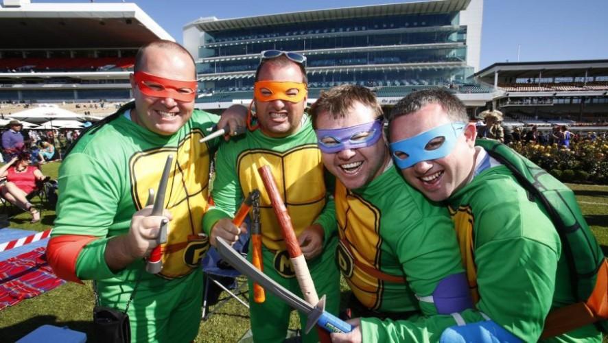 Ninja Turtle Team Picture