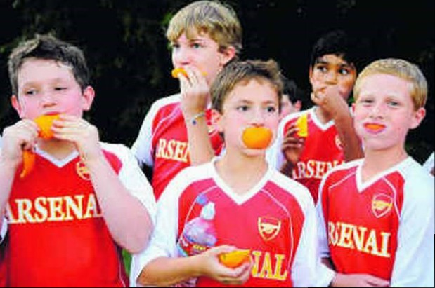 Orange Slice Team Snacks