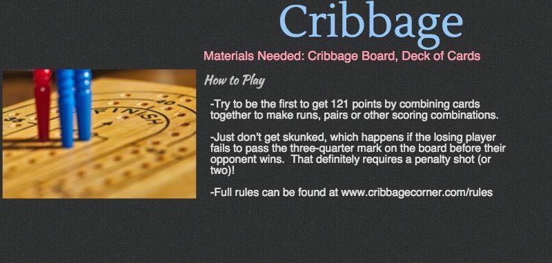 Cottage Games - Cribbage
