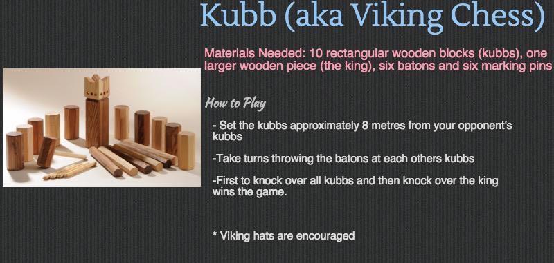 Cottage Games - Kubb