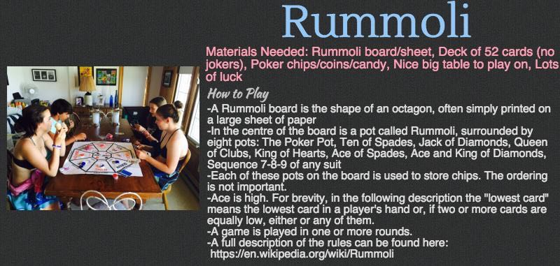 Cottage Games - Rummoli