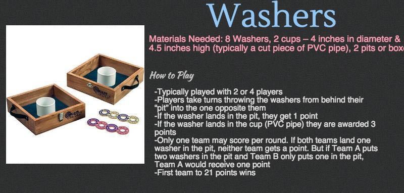 Cottage Games - Washers