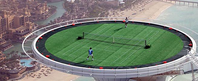 Dubai-Tennis-Court