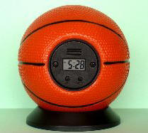 BASKETBALL ALARM CLOCK
