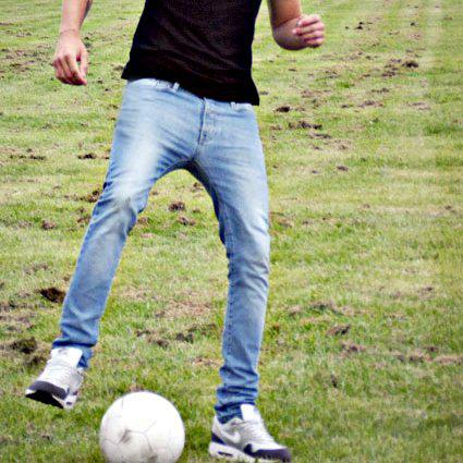 jeans soccer