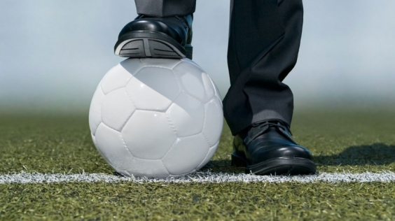 soccer and shoes